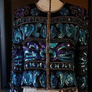 Vintage sequin jacket